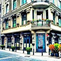 Karaköy Lokantası, giriş, dış mekan